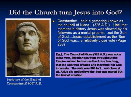an analysis of the council of nicea Summary the council of nicea is often misrepresented by cults and other religious movements the actual concern of the council was clearly and unambiguously the.